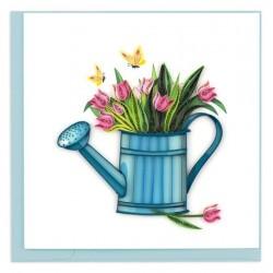 Quilling Card - Gardening