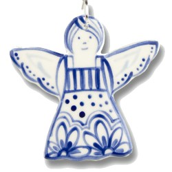 Handmade Ceramic Ornament - Angel