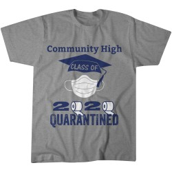 Community High Class of 2020 T-shirt