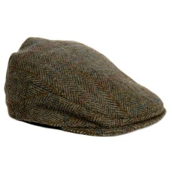Harris Tweed Flat Cap (other tweeds available)