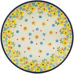 "Polish Pottery Plate - 8"" - Buttercup"