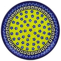 "Polish Pottery Plate - 6"" - Sunburst"