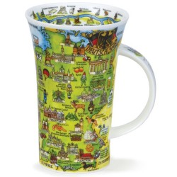 Fine Bone China Mug - Tall - Deutschland