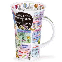Fine Bone China Mug - Tall - English Grammar