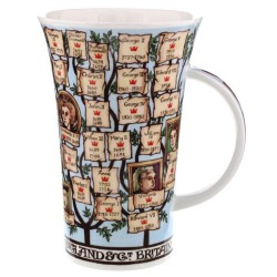 Fine Bone China Mug - Tall - Kings and Queens