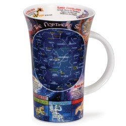 Fine Bone China Mug - Tall - Night Sky
