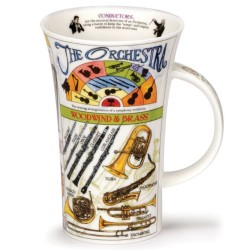 Fine Bone China Mug - Tall - Orchestra