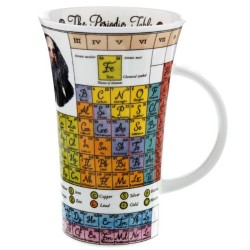 Fine Bone China Mug - Tall - Periodic Table