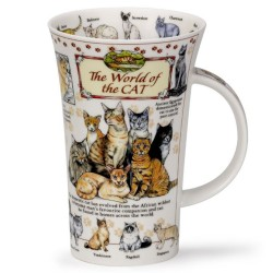 Fine Bone China Mug - Tall - World of the Cat