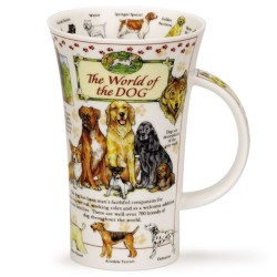 Fine Bone China Mug - Tall - World of the Dog