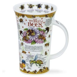 Fine Bone China Mug - Tall - World of Bees