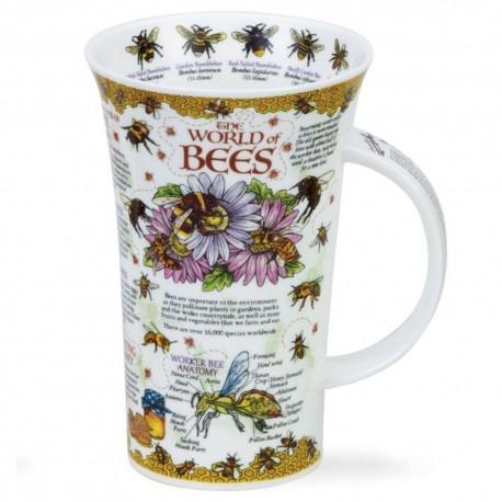 Fine Bone China Mug - Tall - World of Bees