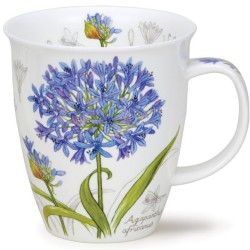 Fine Bone China Mug - Botanical Sketch Agapan