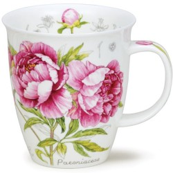 Fine Bone China Mug - Botanical Sketch Peony
