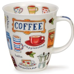 Fine Bone China Mug - Coffee