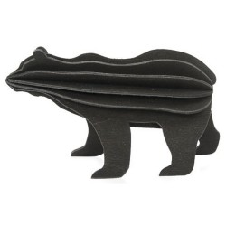 Wooden 3D Puzzle - Black Bear