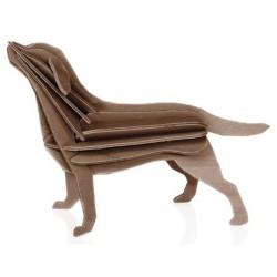 Wooden 3D Puzzle - Labrador