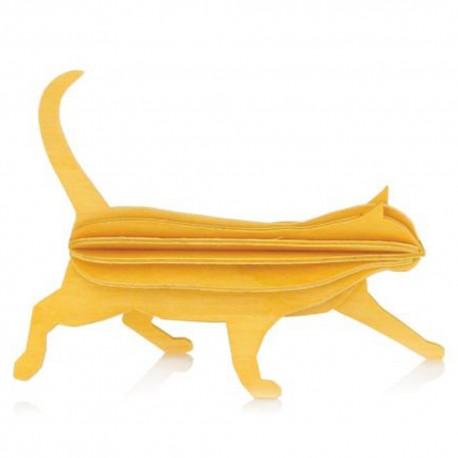 Wooden 3D Puzzle - Cat