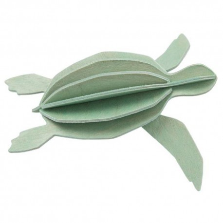 Wooden 3D Puzzle - Sea Turtle