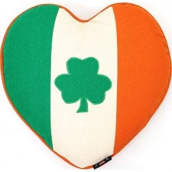 Throw Pillow - Irish Flag and Shamrock