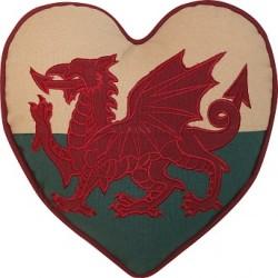 Throw Pillow - Welsh Flag