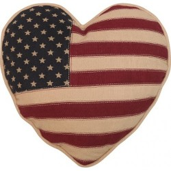 Throw Pillow - American Flag