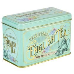 Victorian Tea Tin with 40 English Breakfast Teabags