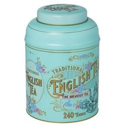 Victorian Tea Tin with 240 English Breakfast Teabags