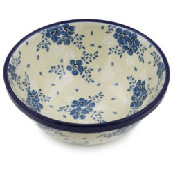 "Polish Pottery Bowl - 6.5"" - Victorian Splendor"