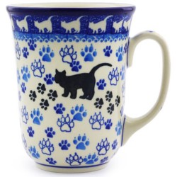 Bistro Mug - 16 oz - Black Cat
