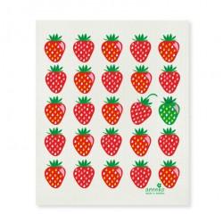 Swedish Dishcloth Strawberries