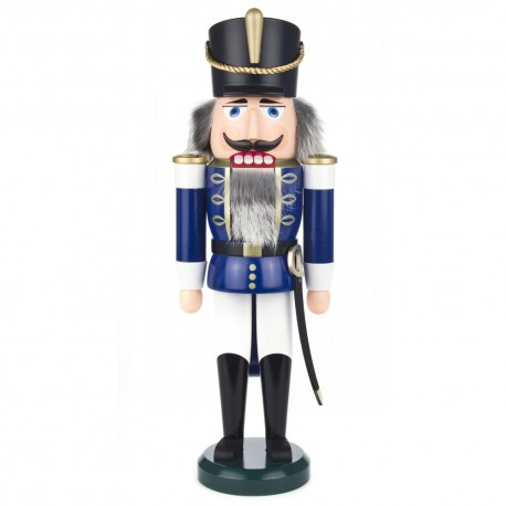 Soldier Nutcracker - Blue and White