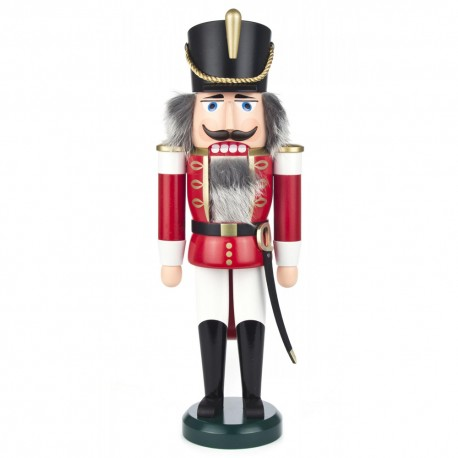Soldier Nutcracker - Red and White