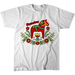 Sweden Dala Horse Tshirt