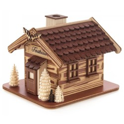 "Cabin ""Forsthaus"" Incense Smoker Handmade in Germany"
