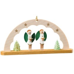 Angels Arch Wooden Ornament