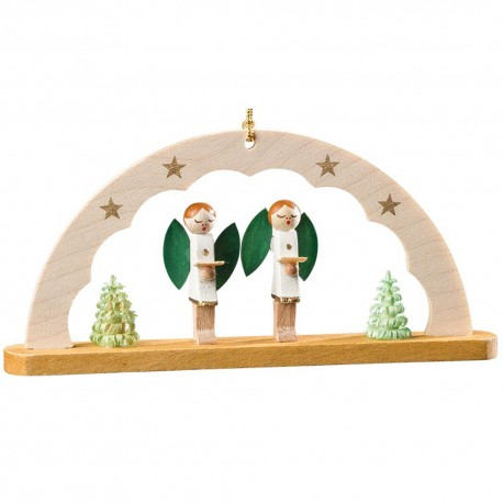 Angels Arch Wooden Ornament Made in Germany