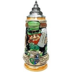 Ireland Beer Stein Made in Germany by King-Werk