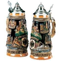 Germany Rhein River Beer Stein Made in Germany by King-Werk