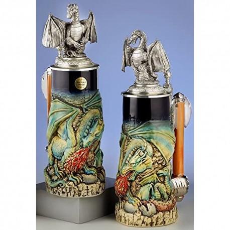 Dragon Beer Stein Handmade in Germany by King-Werk