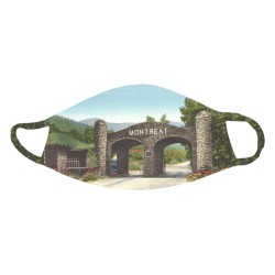 Montreat Vintage Postcard Face Mask