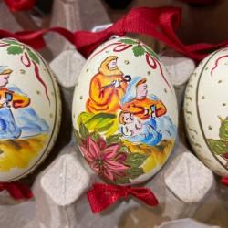 Eggshell Ornament Nativity