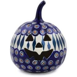 "Jack-o'-Lantern Pumpkin - 6"" - Peacock"