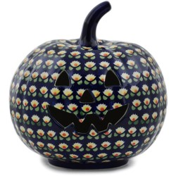"Jack-o'-Lantern Pumpkin - 9"" - Waterlily"