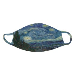 "Van Gogh's ""The Starry Night"" Face Mask"