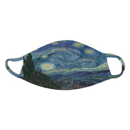 """Van Gogh's """"The Starry Night"""" Face Mask"""