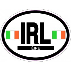 Oval Reflective Decal Ireland