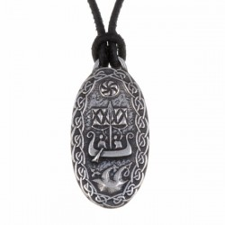Traveler's Charm Pewter Necklace Handmade in England