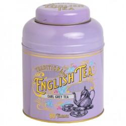 Victorian Tea Tin with 80 Earl Grey Teabags