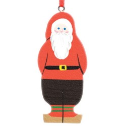 Swedish Tomte Wooden Christmas Ornament